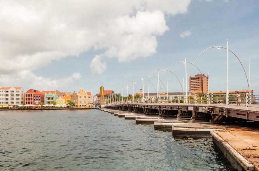 Willemstad, Punda, Bridge Altstad Willemstad Curacao, Poppy Hostel Curacao, Willemstad, Niederländische Antillen, Curaçao