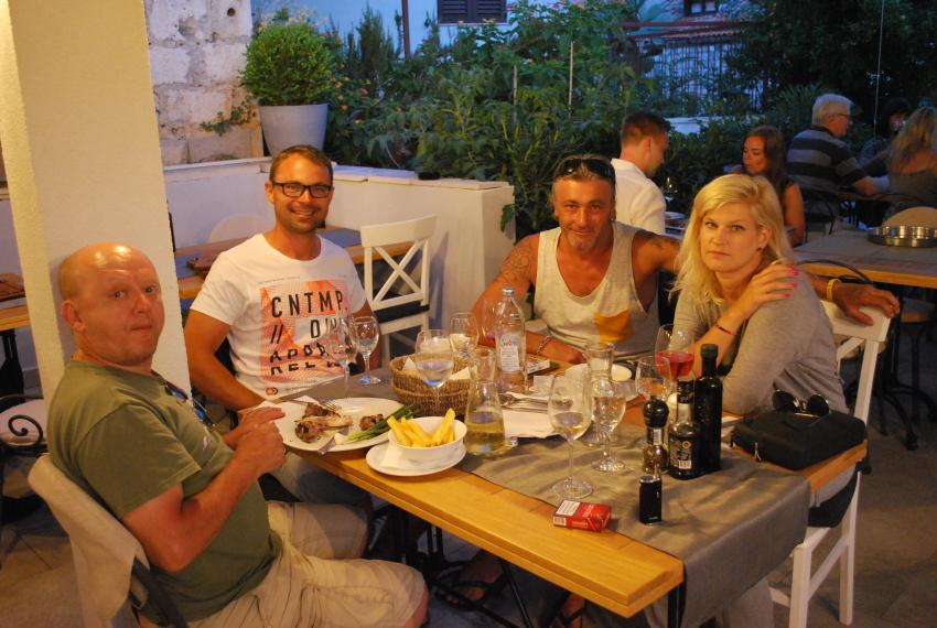 Pizzaria Mizarola, Hvar, Insel Hvar, Kroatien