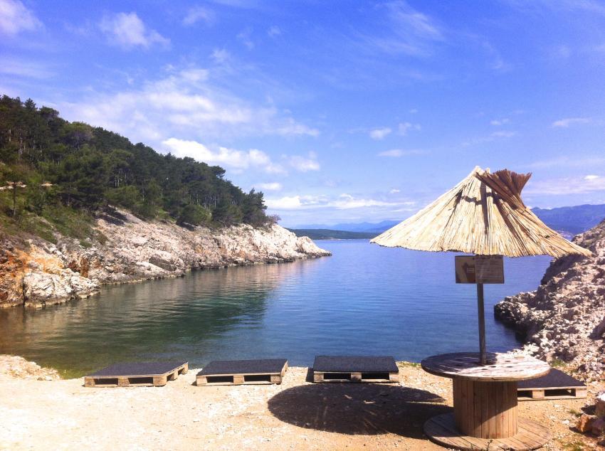 Silent Beach Vrbnik, vrbnik silent beach kroatien croatia krk, Dive Loft Krk, Vrbnik, Insel Krk, Kroatien
