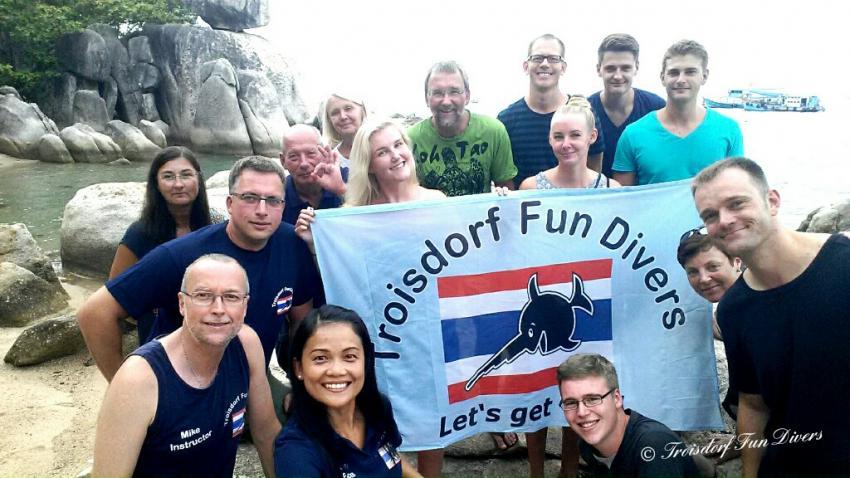 Koh Tao, Thailand 2016, Troisdorf Fun Divers, Troisdorf, Deutschland, Nordrhein-Westfalen