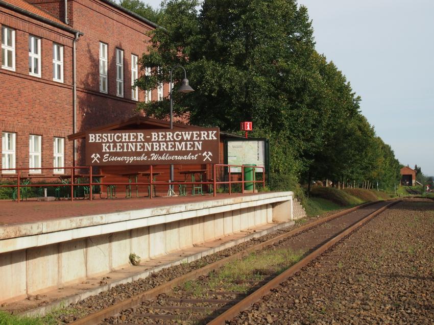 Besucherbergwerk Kleinenbremen Außenbereich, Besucherbergwerk Kleinenbremen Kreis Porta Westfalica, Deutschland, Nordrhein-Westfalen