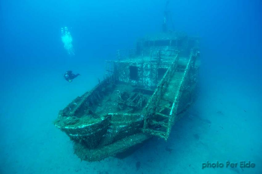 MV Karwela by Per Eide, Fish Diving Gozo Calypso Dive, Calypso Diving Center, Marsalforn, Gozo, Malta