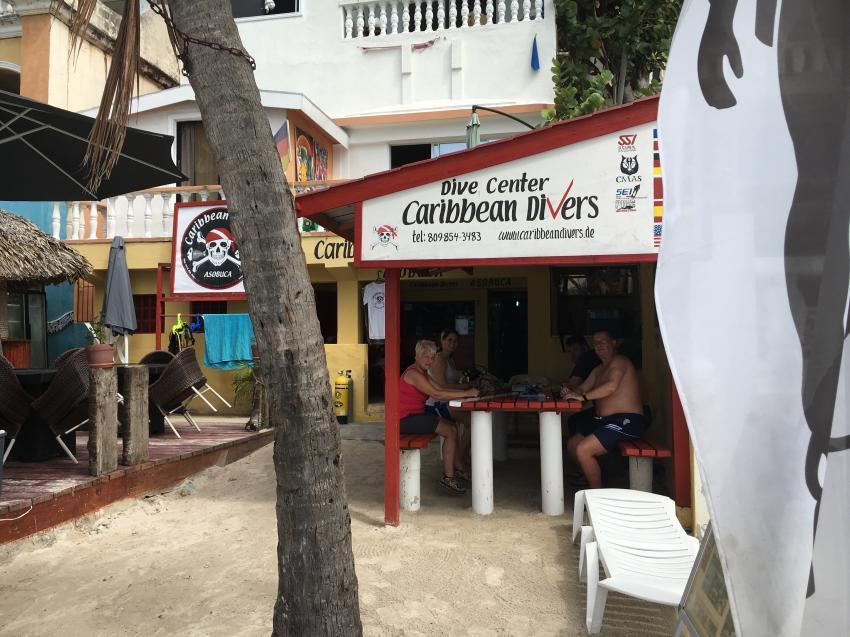 Tauchbasis, Caribbean Divers, Boca Chica, Dominikanische Republik