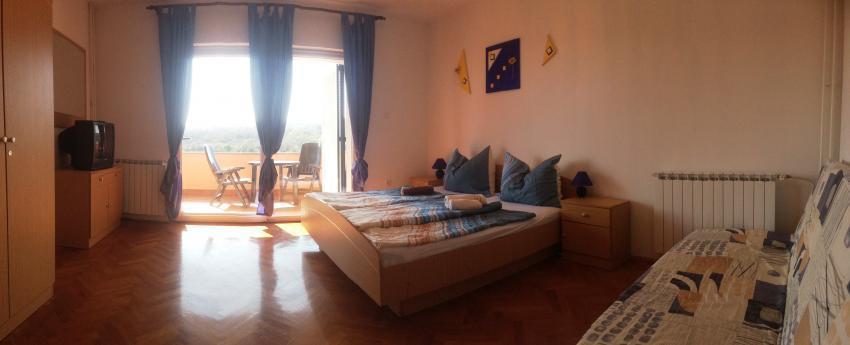 Schlafzimmer Ap.1, Apartments Styria Gueni Krk, Appartements Styria-Gueni-Krk, Kroatien