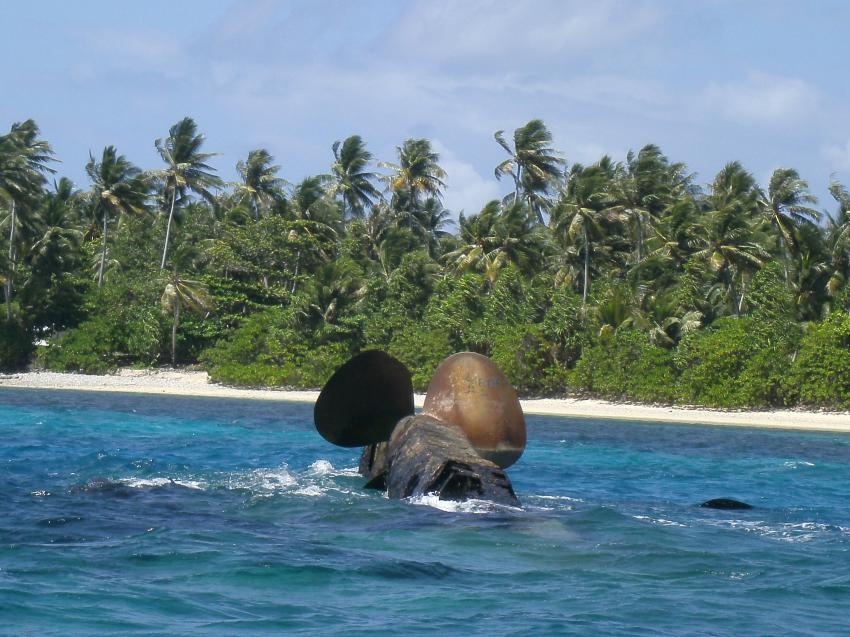 Prinz Eugen, Kwajalein Atoll, Marshallinseln