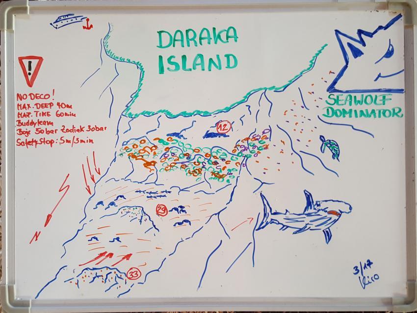 Daraka island, Seawolf Safari Sudan Süden Tauchen, Darraka Island, Südsudan, Sudan