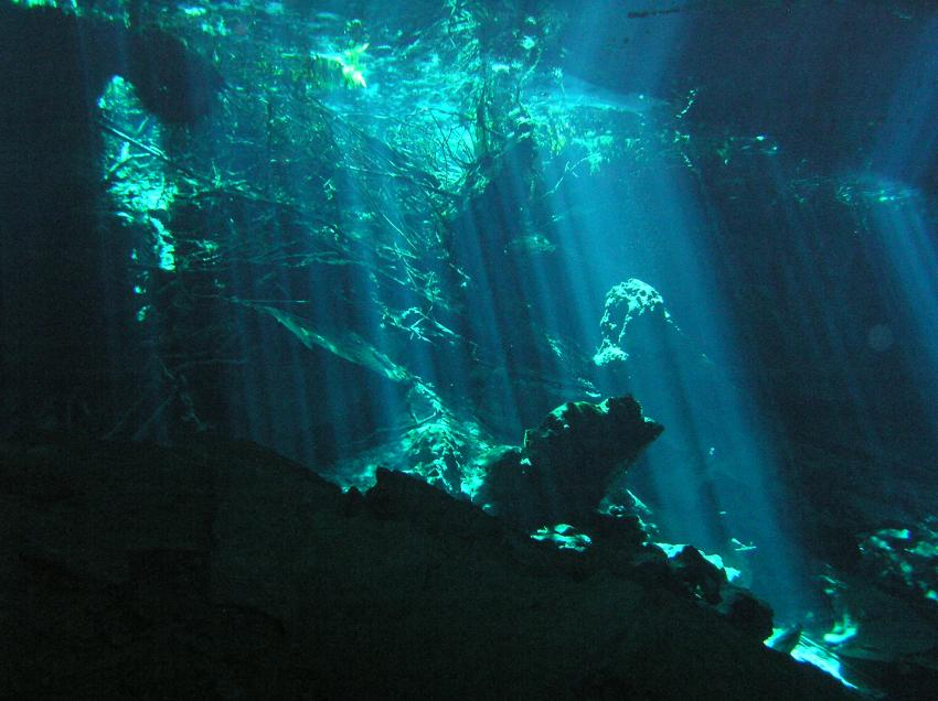 Lichtspiele in der Höhle