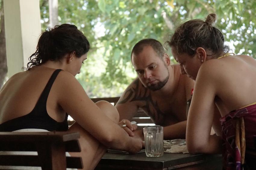 Lernen im freien! , Lumba Lumba Diving Center, Pulau Weh, Sumatra, Indonesien, Allgemein
