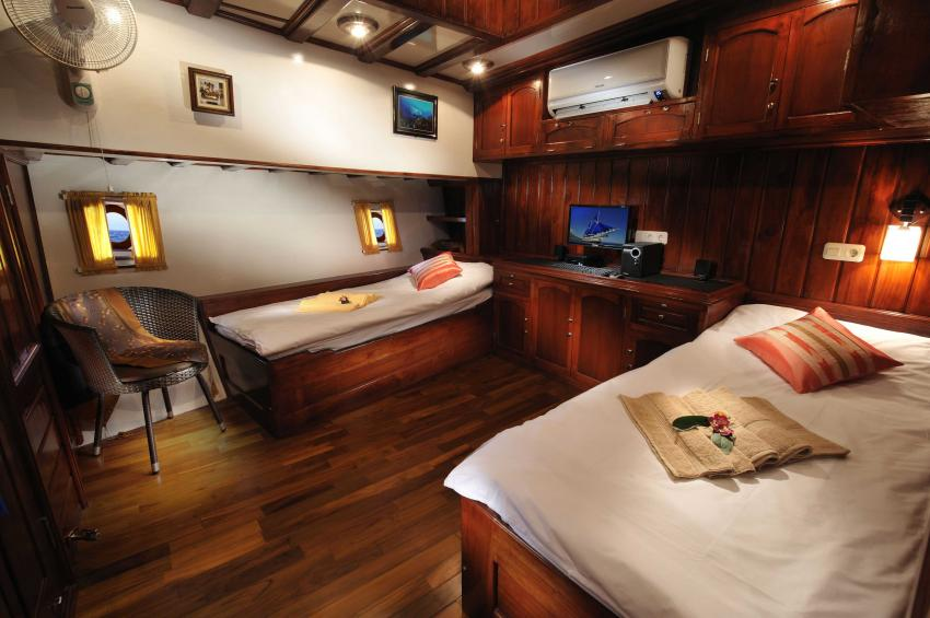 Twin Cabin, S/Y Indo Siren, Indonesien, Allgemein