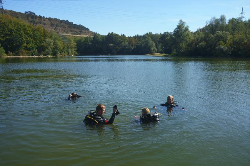 Freiwasserausbildung, Balance-Diving - Tauchen in Mainfranken, Arnstein, Deutschland, Bayern