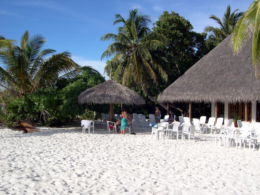 Fihalhohi, Fihalhohi (auch Fiha Llhoh) - Süd Male Atoll,Malediven,Strand,weiss,sand,tropen,hütten,sandstrand,idylle