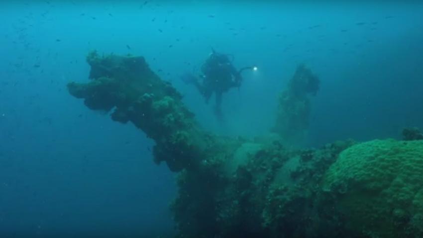 Heian Maru, Truk Lagoon, Mikronesien