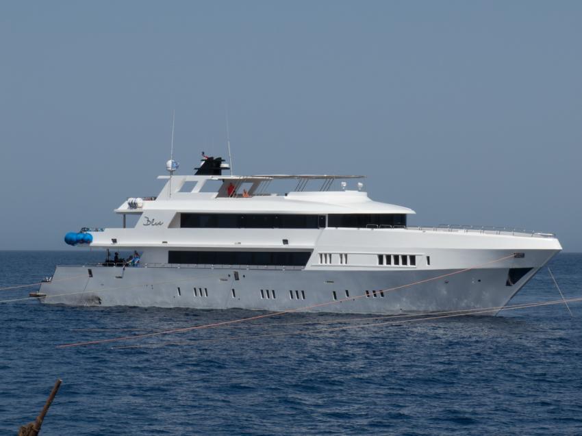 Das Schiff, M/Y Blue, Ägypten