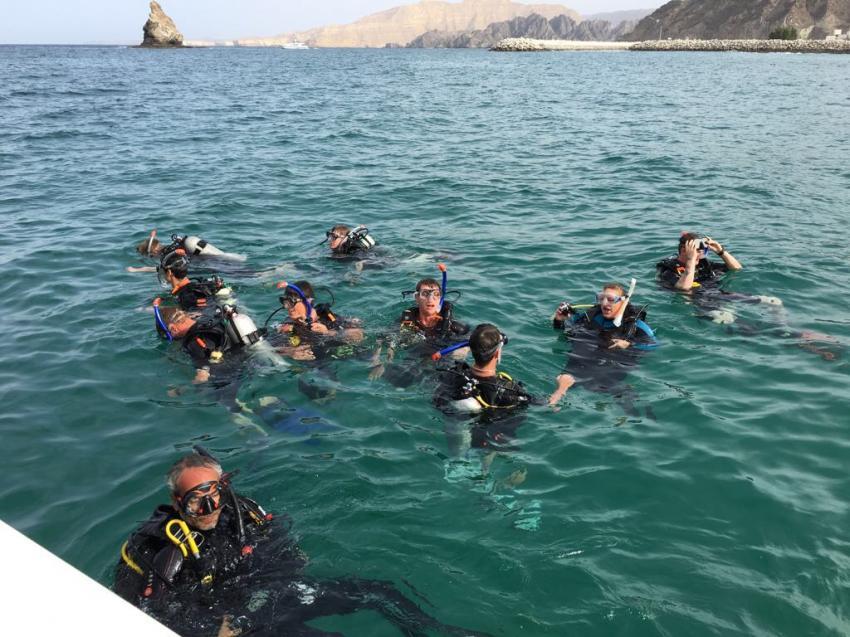 Euro Divers, Bandar Al Rowdha, Oman