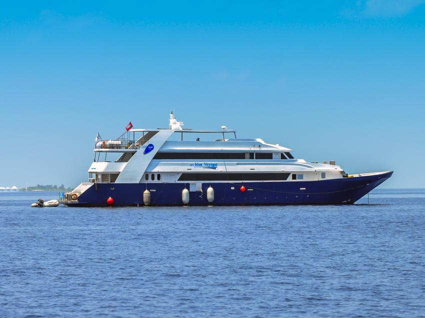 M/Y Blue Voyager, Malediven