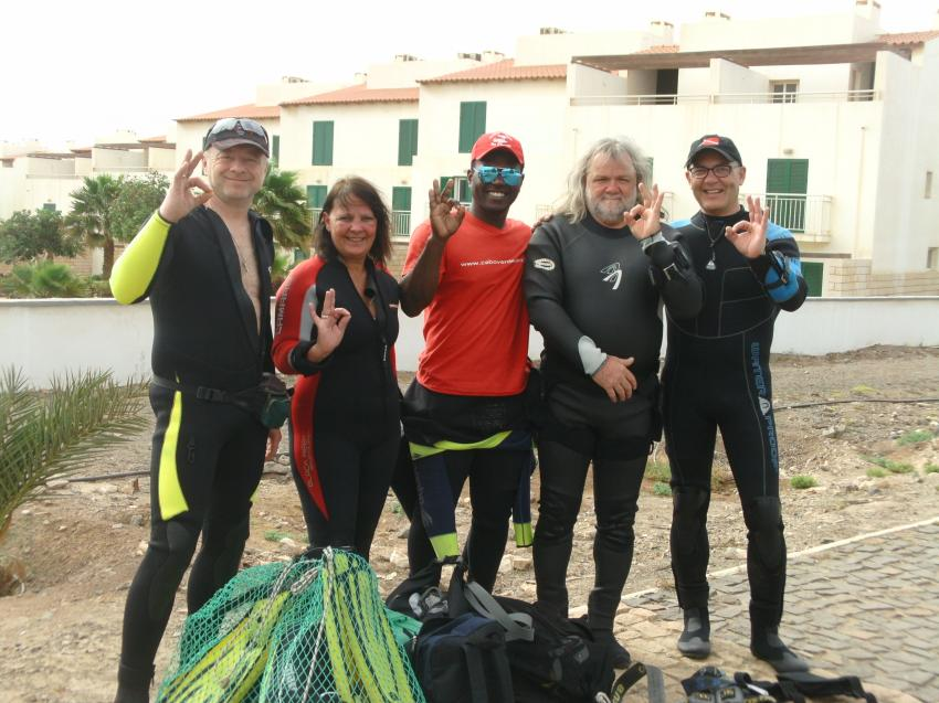 Tauchen April 2016, CaboVerdeDiving, Santa Maria, Kap Verde