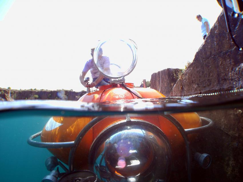 Nemo N 100 im Kessel 1 abgetaucht