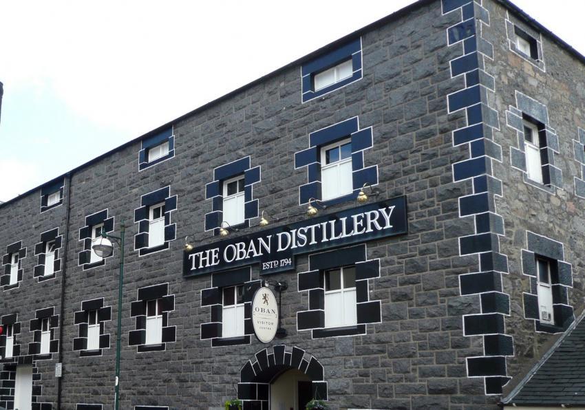 Oban Distillery, Großbritannien, Schottland