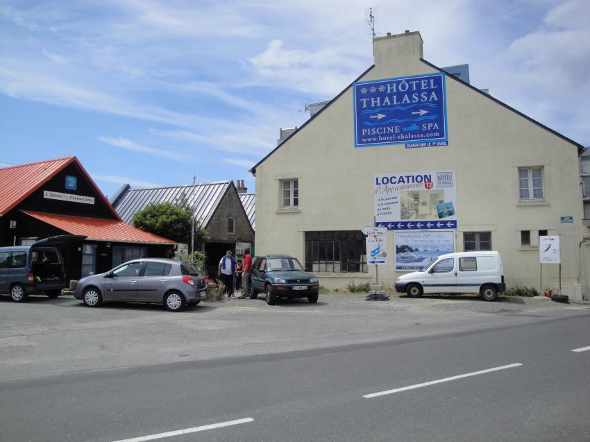 """Camarat sur Mer  - """"Keltische See"""", Camaret sur mer,Frankreich,Basis,Tauchcenter,Eingang"""