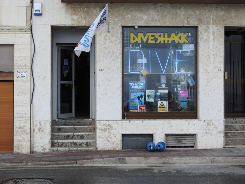Diveshack, Sliema, Malta