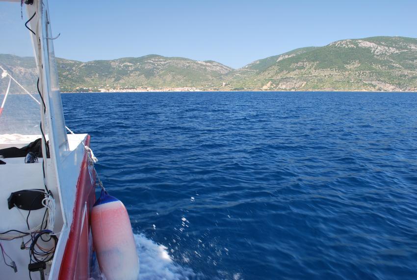 Wrack der Vassilios T., Insel Vis, Wrack der Vassilios T.,Insel Vis,Kroatien