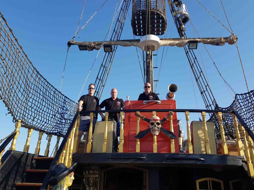 Piraten, Bootstauchen, Dive Pirates, Wien, Österreich