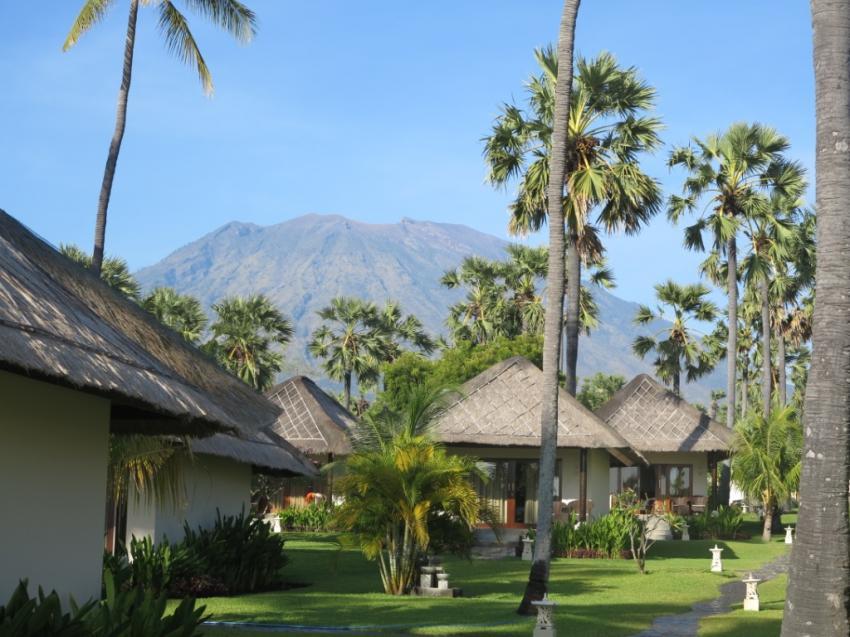 Mount Aguna, Mount Aguna, Kubu Indah Dive & Spa Resort, Kubu, Indonesien, Bali