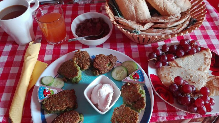 Frühstück, PANORAMA Guesthouse & Restaurant, Safaga, Ägypten, Safaga