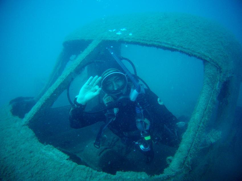 flugzeugwrack do 28 , Pearl Diving Center, Antalya-Belek, Türkei