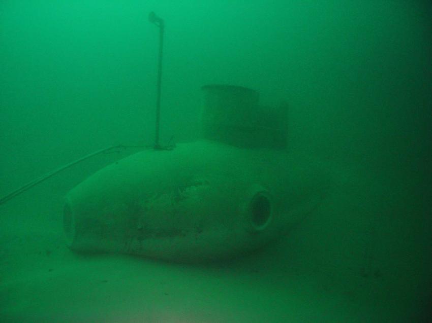 U-Boot im Attersee