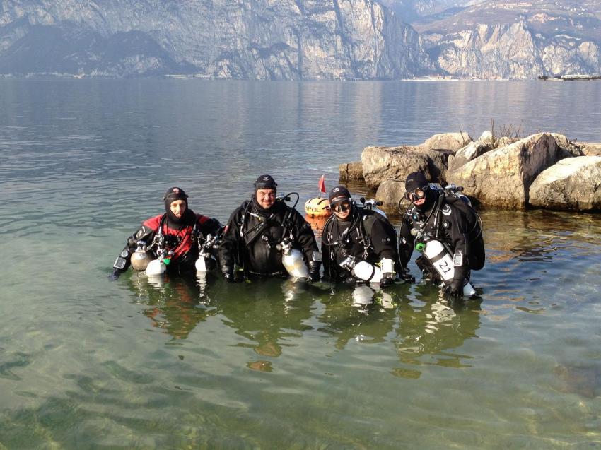 Gardasee TecRec, Sportdiver Club, Assenza di Brenzone, Italien