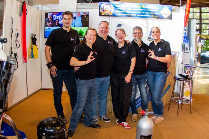 Team Foto Garchinger Herbsttage 2016, Tauchschule Neufahrn, Deutschland, Bayern