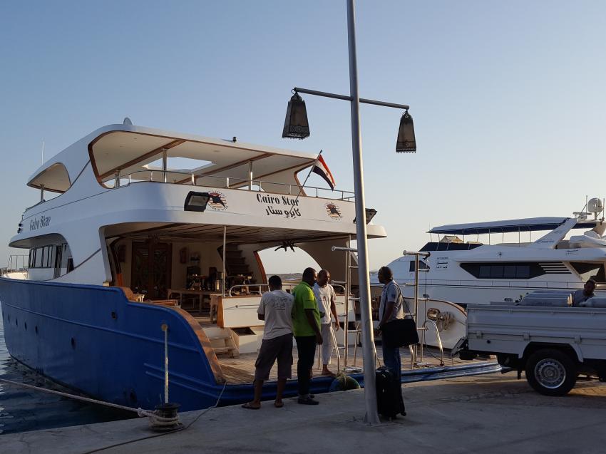 Im Hafen von Port Ghalib, Hany Dolphin Blue, Ägypten, Safaga
