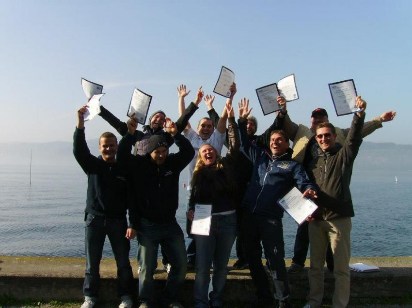 PADI Instructor Prüfung , PADI IE, IDC, Sportdiver Club, Italien