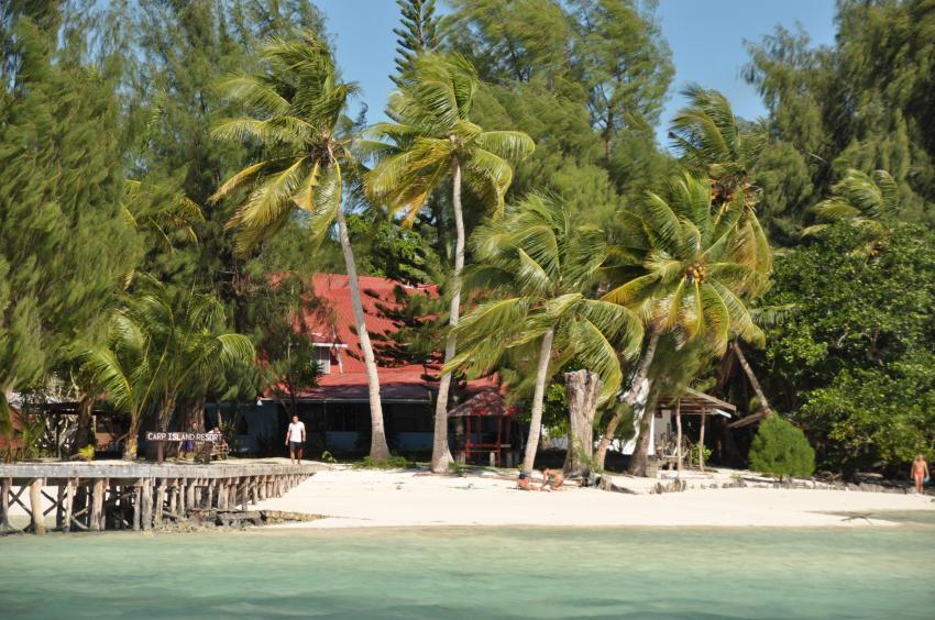 Carp Island, Carp Island Resort, Palau