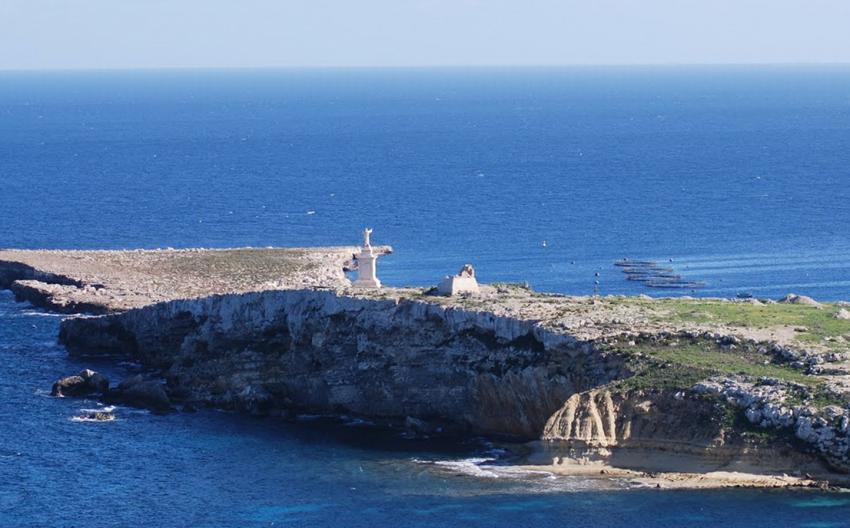 St. Paul´s Island, Canyon, Malta, Malta - Hauptinsel