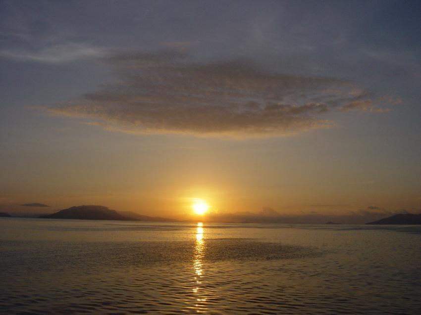 Irian Jaya - Pindito Kreuzfahrt, Irian Yaja,Indonesien,Sonnenuntergang