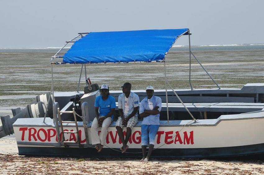 Tropical Diving Team, Mombasa, Kenia