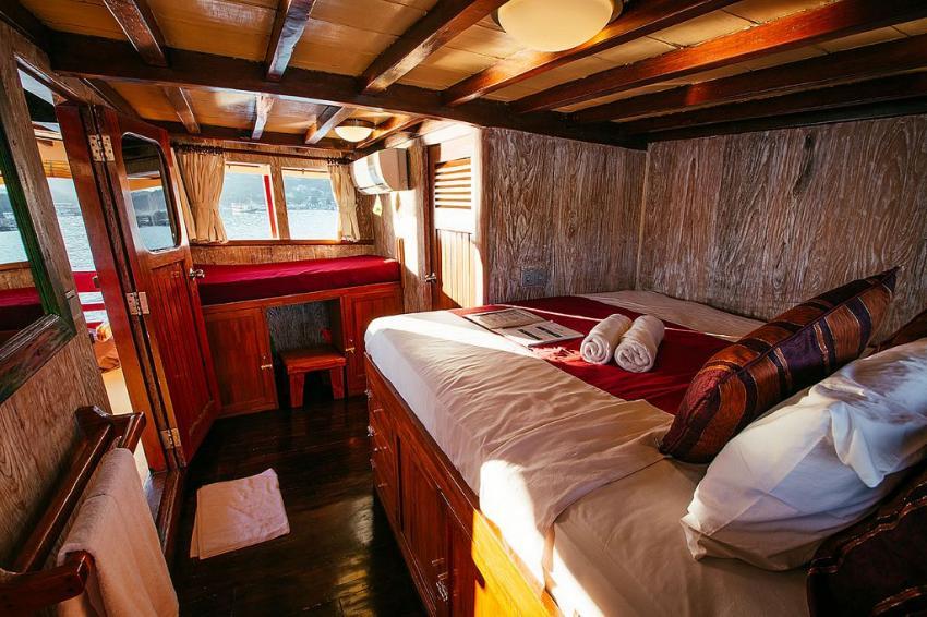 Kabine Nr. 9, SM/Y The Seven Seas, Bali, Indonesien