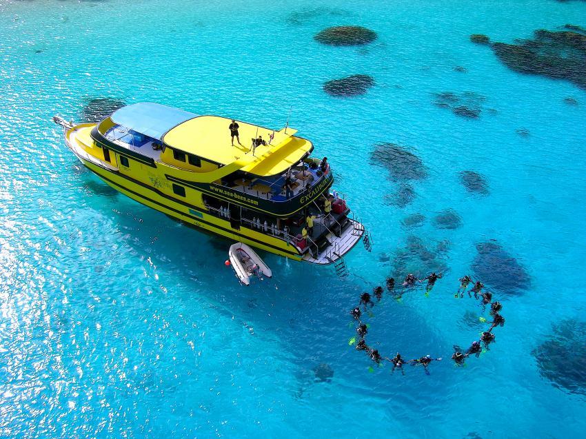M/V Excalibur II, M/V Excalibur II - Sea Bees Diving, Thailand