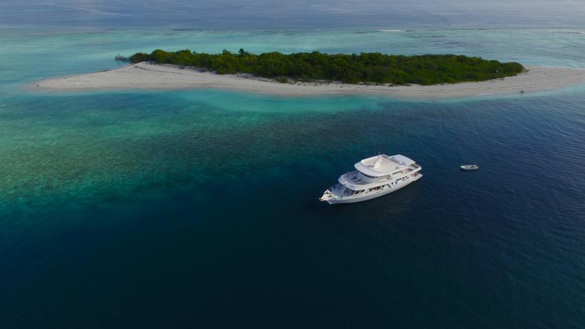 M/V Eco Blue, Malediven