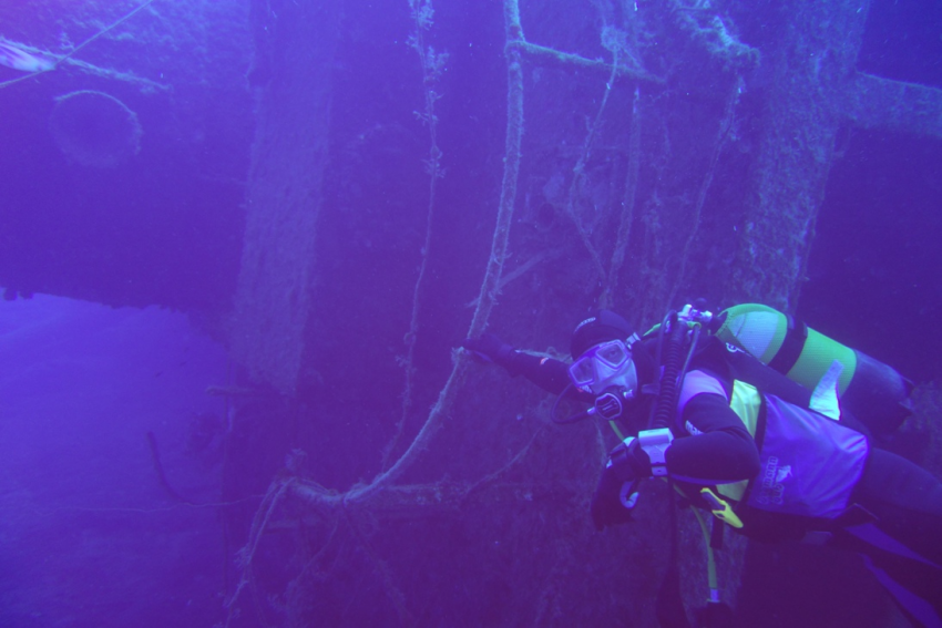 Ship Wreck, Wreck Diving, Divers Club Crete, Agia Pelagia, Kreta, Griechenland