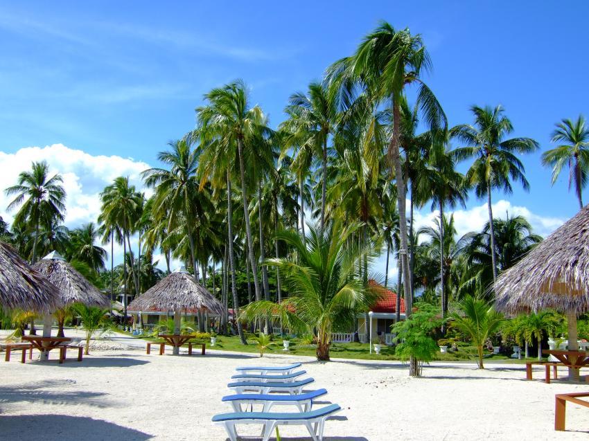 Idylle im Whispering Palms Island Resort, Sipaway, Negros