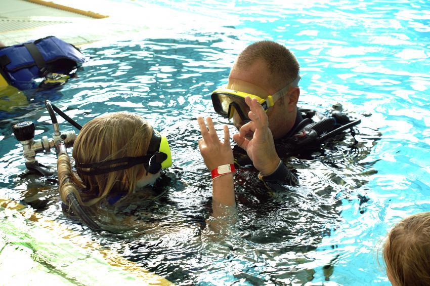 Kids Schnuppern, Dive Team Tauchschule, Bayreuth, Deutschland, Bayern