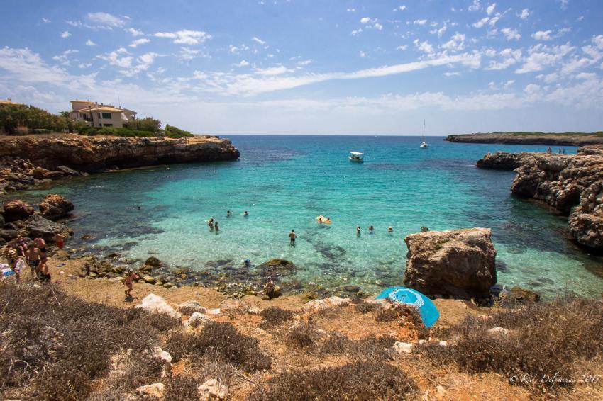 Cala Morlanda - Mallorca, Tauchen auf Mallorca, Tauchplatz Mallorca, Delphinus Diving School Mallorca, Spanien, Balearen