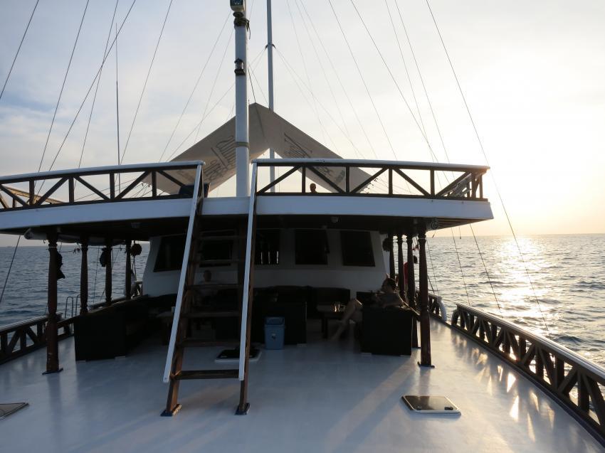 vorschiff, Nautilus One, Malediven