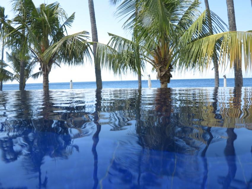 Poolview, Kubu Indah Dive & Spa Resort, Kubu, Indonesien, Bali