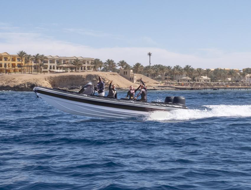 Speedboat Trips with Captain Abdul and Coraya Divers - Coraya Bay, Coraya Divers, Coraya Beach, Marsa Alam, Ägypten, Marsa Alam und südlich