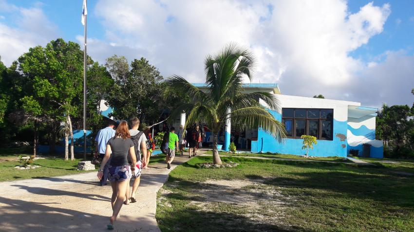 Die Tauchbasis Blue World, Blue World, Playa Pesquero, Kuba