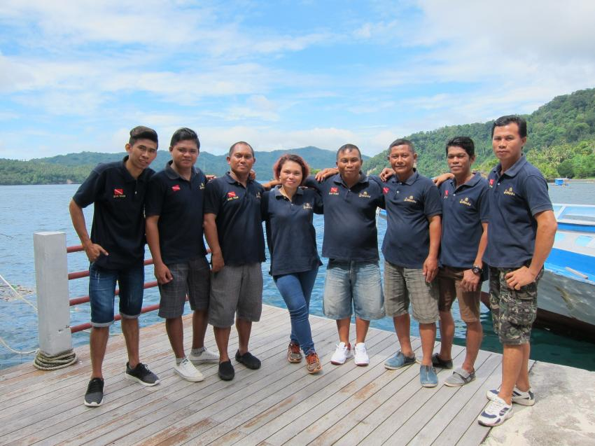 MakaMaka Divers - Dive Guides and Instructors, Dabirahe, MakaMaka Divers, Indonesien, Sulawesi
